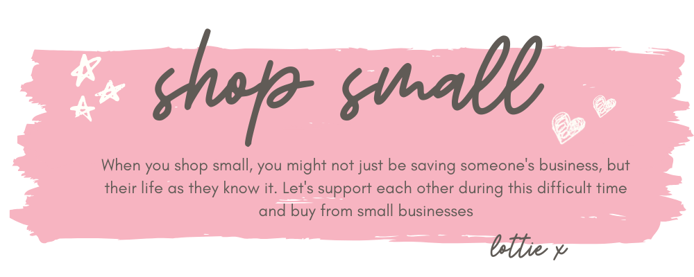Shop small during COVID19